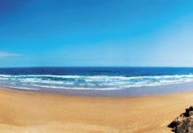 Атлантический океан на берегу Марокко