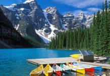 Озера Канады невероятной красоты