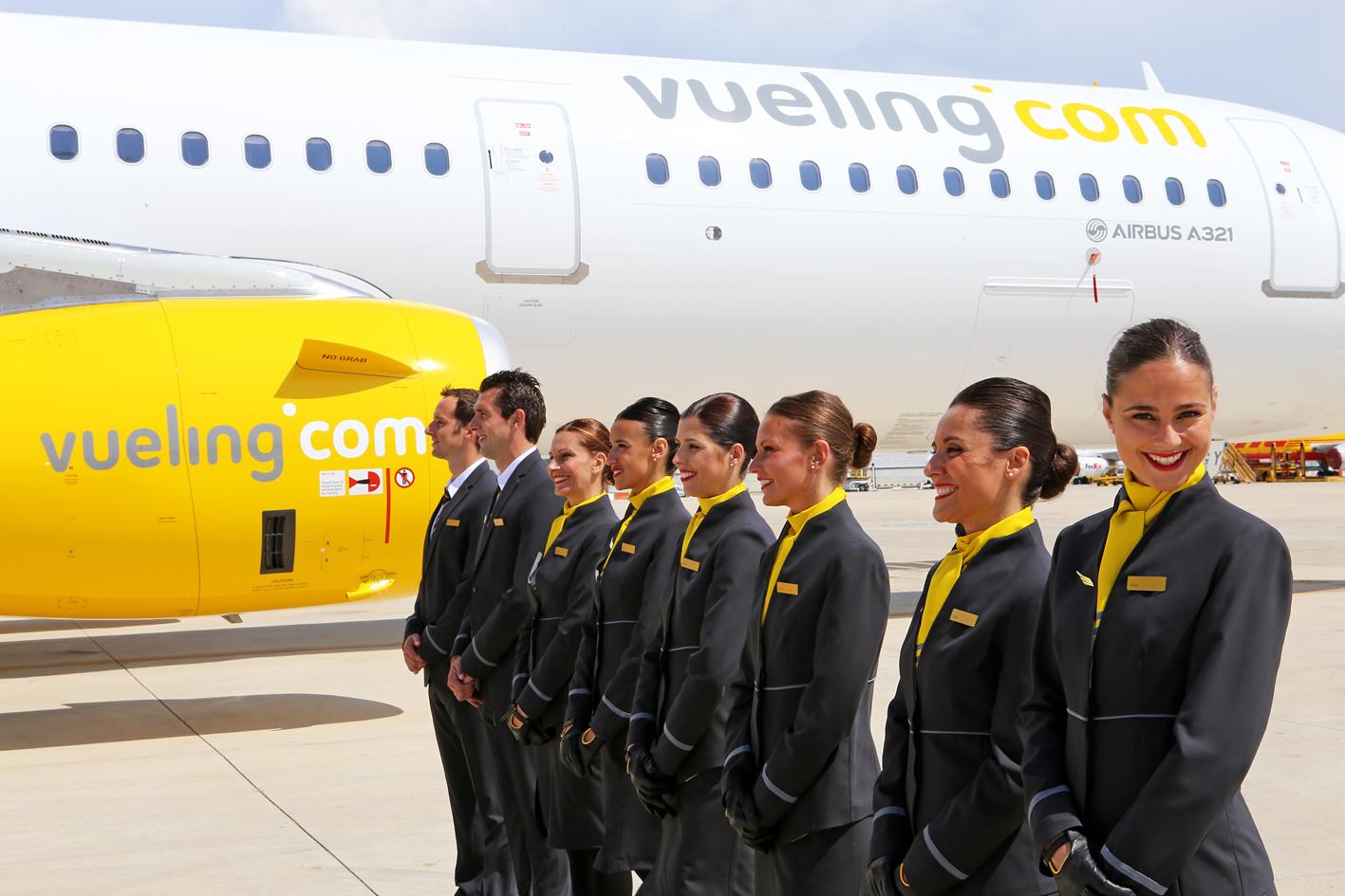 Официальный сайт компании vueling airlines на заставку для сайта компании