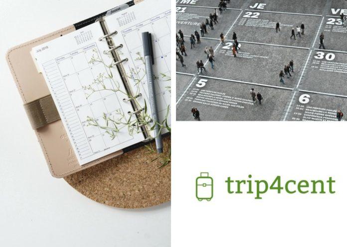 Travel calendar 2019