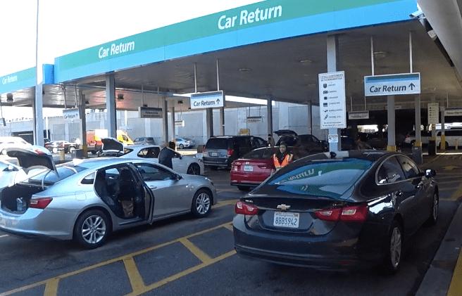Как сдать забронированное авто в аэропорту Лос-Анджелеса