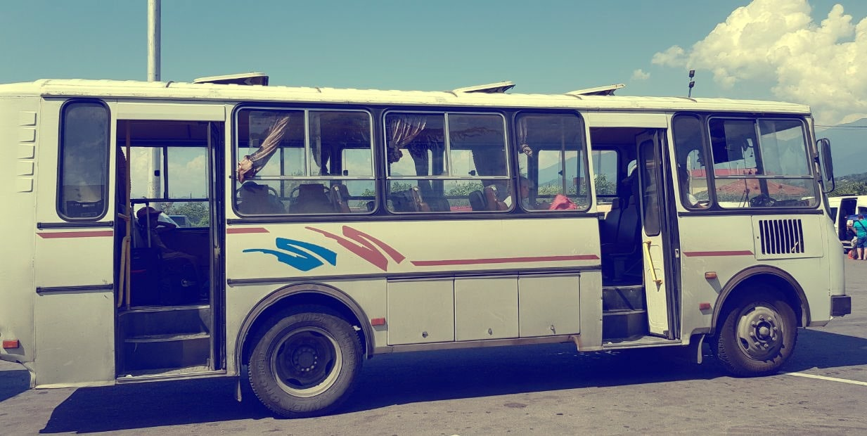 Цены на транспорт в Абхазии