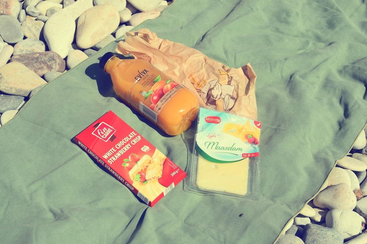 Еда на Кипре в магазинах