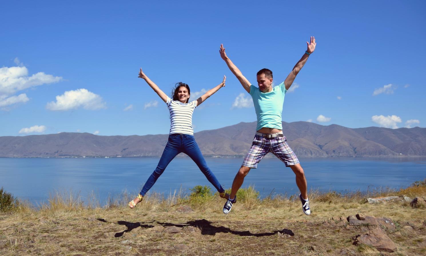 Поездка в Армению на Севан