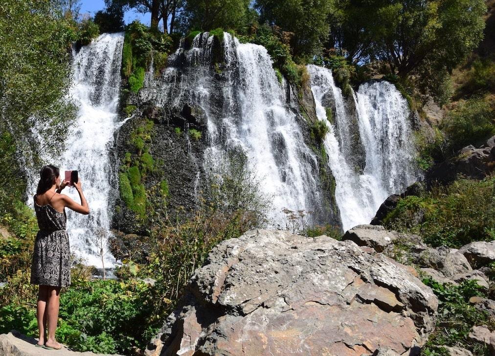 Путешествие по Армении на водопад Шаки