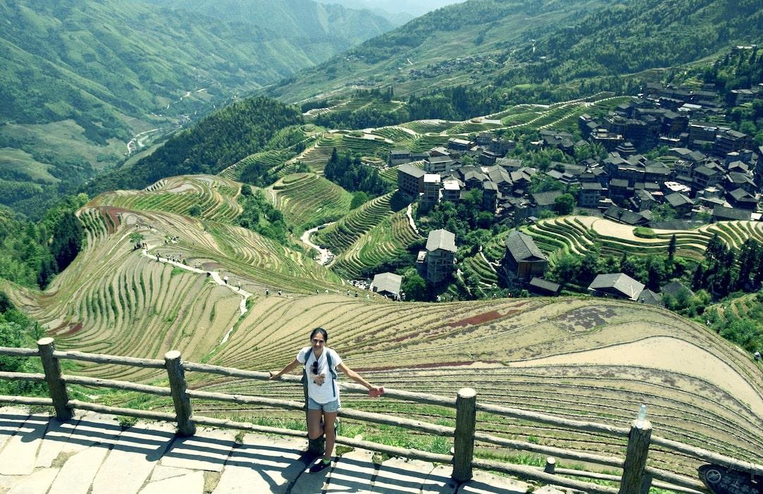 Рисовые террасы Лонгшен