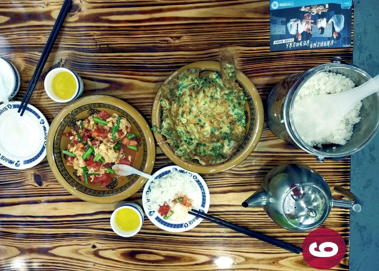 Завтрак в Китае