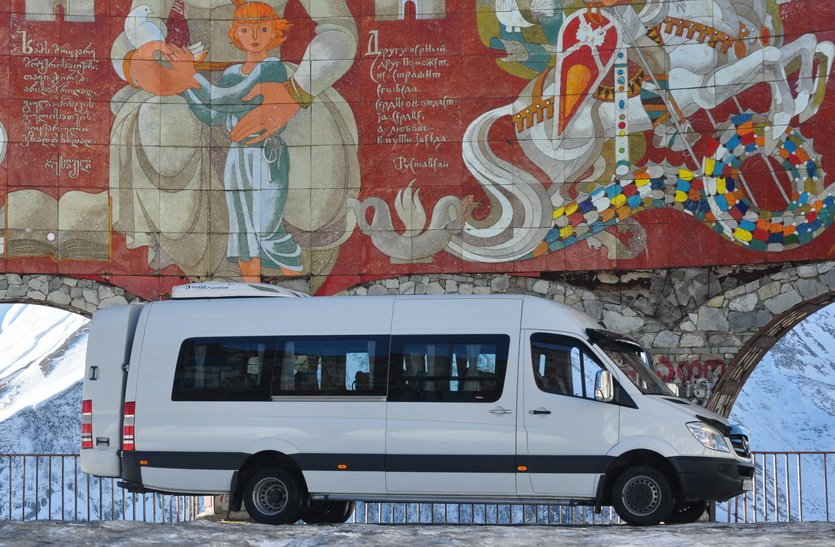 Автобус из Владикавказа в Тбилиси