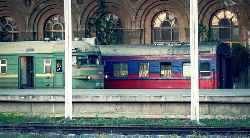Ночной поезд из Еревана в Тбилиси