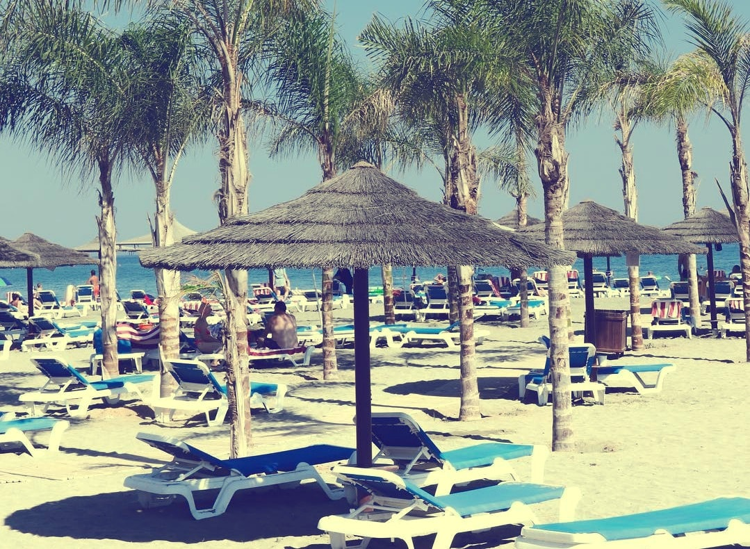 Пляж на Кипре