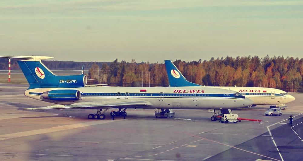 Самолет из Минска в Тбилиси