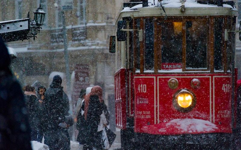 Поездка в Стамбул зимой
