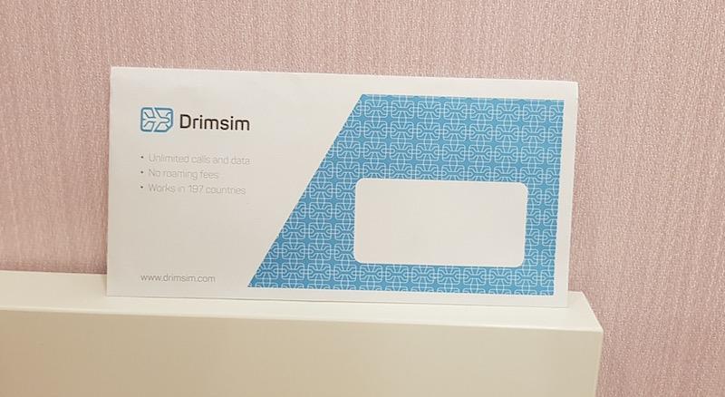 Как приходит сим-карта Дримсим