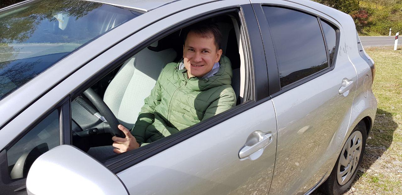Удовольствие от вождения в Грузии
