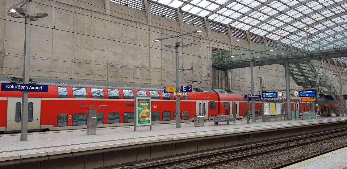 Региональный поезд в Германии
