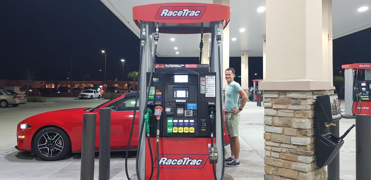 Стоимость топлива в США