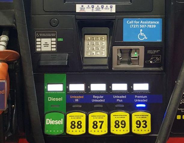 Виды топлива в США
