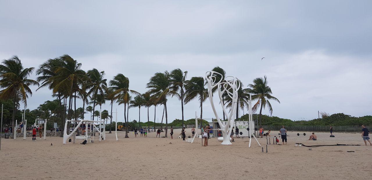 Майами Бич общественные зоны